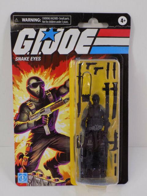 "GI Joe Retro Collection SNAKE EYES 3.75"" Walmart Exclusive Action Figure NEW"