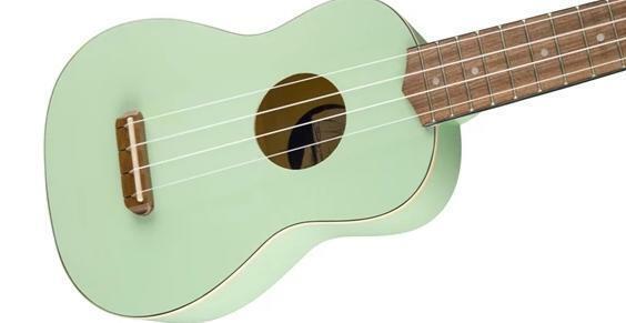Fender Venice Soprano Ukulele Uke In Black For Sale Online Ebay