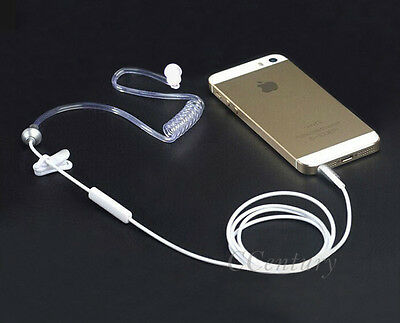 Anti Radiation Proof Air Tube Earphone Headset for Apple iPhone 6 Plus 5 5S 4S