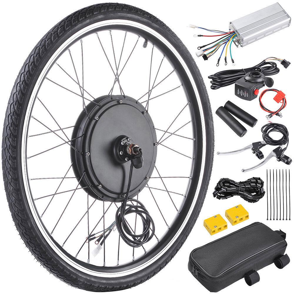 Electric Bicycle Motor Conversion Kit Front Rear Wheel E Bike Hub 1000W