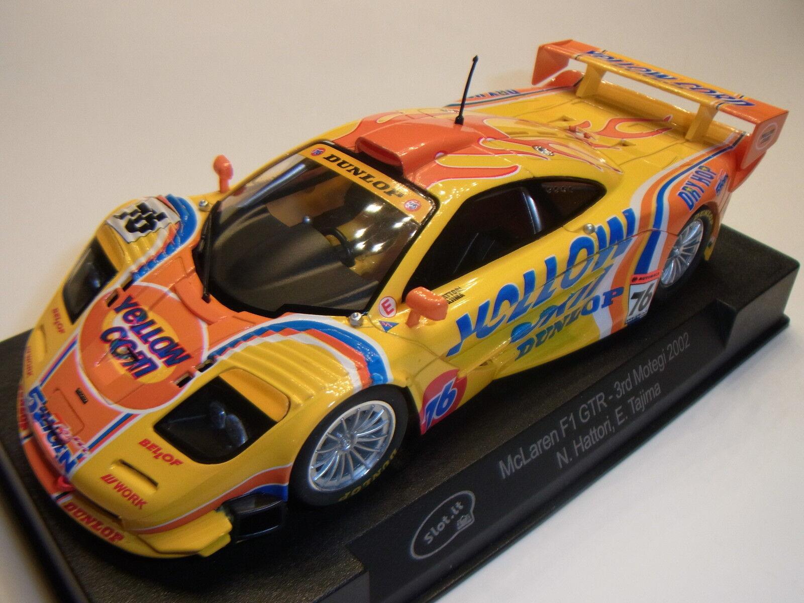 Slot  Mclaren GTR Long Tail Montegi Racing 2002 Sica10g 1 3 2 Slotcar