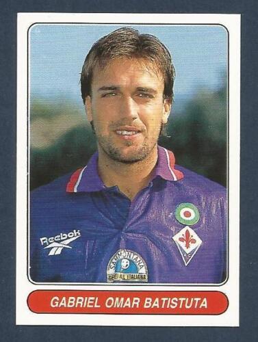 #092-FIORENTINA//ARGENTINA-GABRIEL BATISTUTA PANINI EUROPEAN FOOTBALL STARS 1997