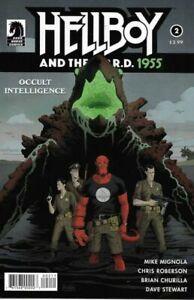 Vault 35 Hellboy And the BPRD 1955 Secret Nature VF 2017 Dark Horse Comic