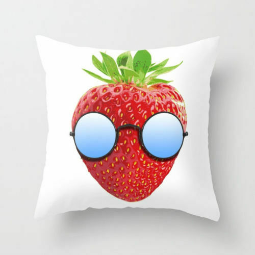 Polyester red yoga Retro pillows case sofa car waist cushion cover Home Decor