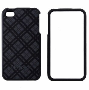 aee55ea2512 La foto se está cargando Speck-Fitted-Iphone-Funda-Para-Apple-Iphone-4-