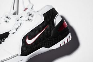 c720f103e1b Nike LeBron James Air Zoom Generation AZG FIRST GAME WHITE RED ...