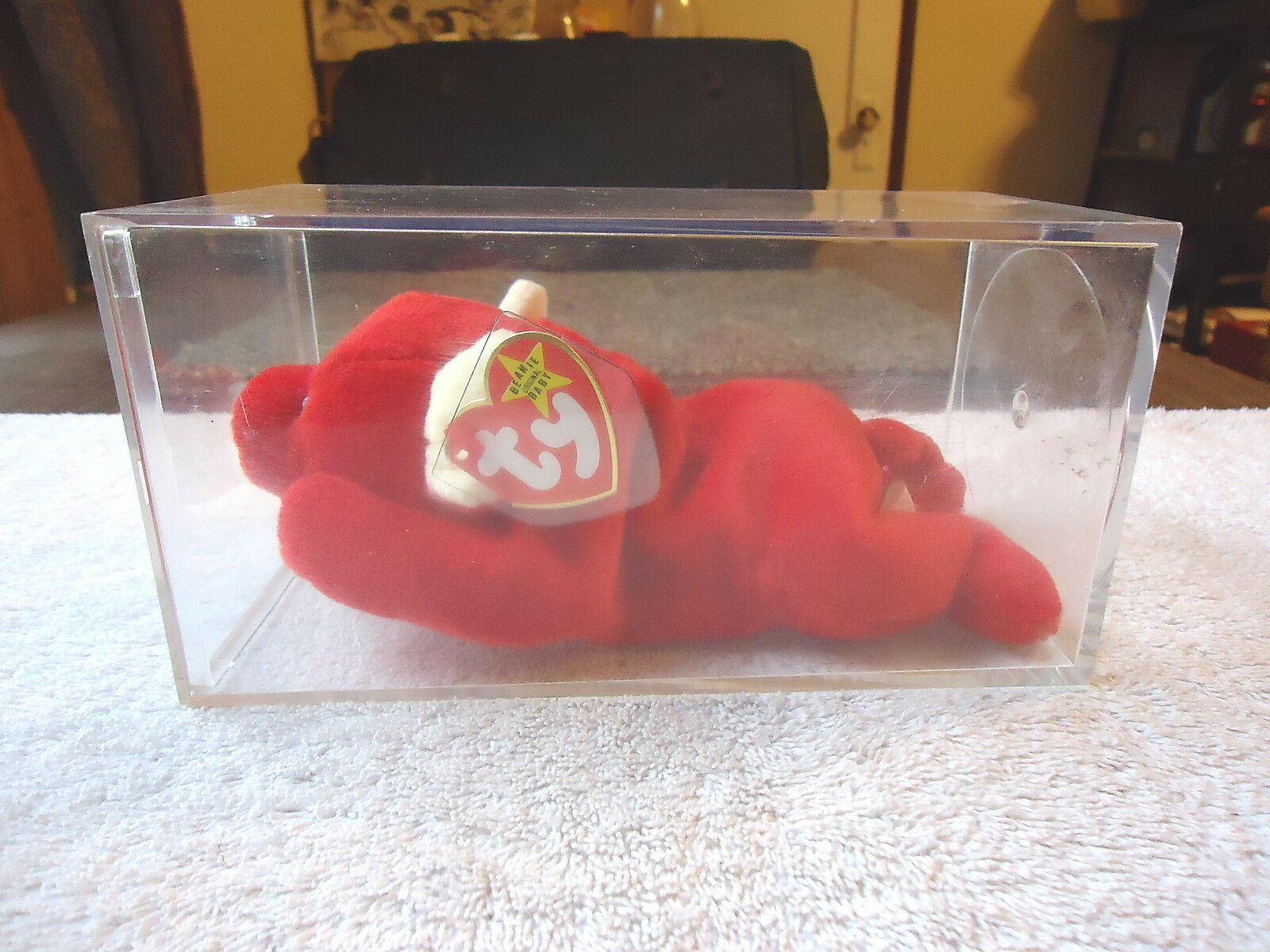 1995 TY Inc.Early Forced Retirement Beanie Baby Tabasco   Mispelled   SUFRACE