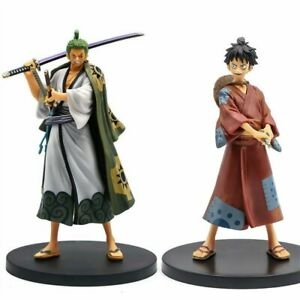 17cm-Anime-One-Piece-Figures-Monkey-D-Luffy-Roronoa-Zoro-PVC-Action-Figure