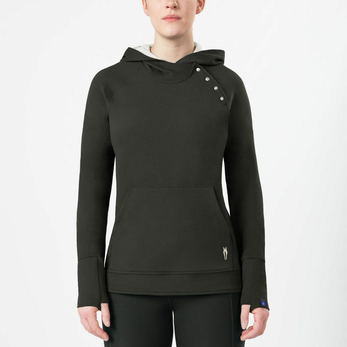 Irideon Himalayer Hoodie with Horizontal Thumbholes and TwoSided Fabric