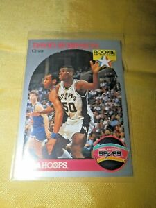 Details About David Robinson Rookie Of The Year 1990 Nba Hoops Card 270