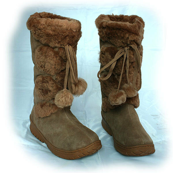 Genuine UGG Australia Rubber Sole Outdoor Premium Sheepskin Boots