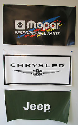 Dodge Flag Automotive Garage Man Cave Mopar Racing Banner 58x17