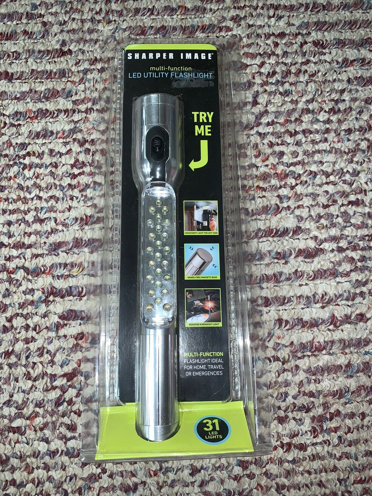 Sharper Image Utility Flashlight