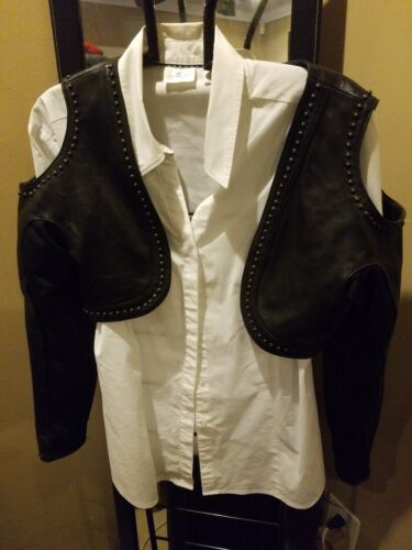 Womens First Leather Jacket Crop