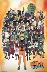 22x34-18865 NARUTO TOGETHER POSTER
