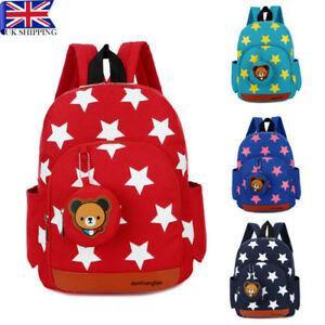 Toddler Backpack Cute Cartoon Bear Kids School Bag Rucksack Baby ... 17e7262624