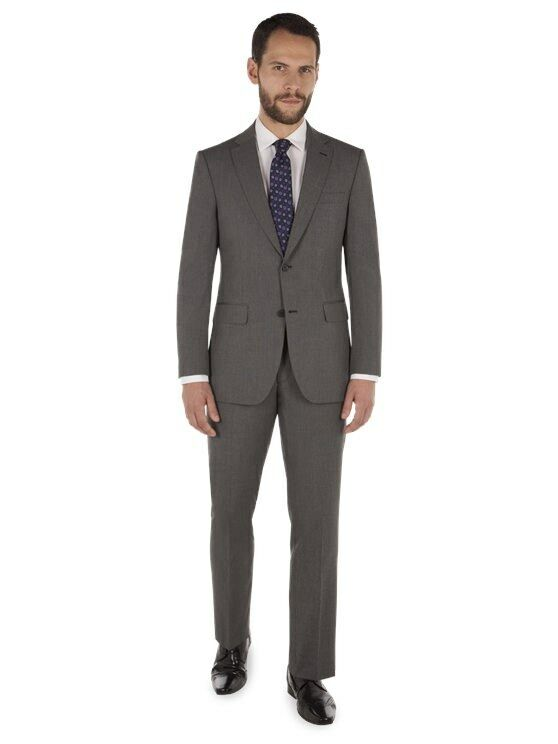 Scott & Taylor Grau Regular Fit Suit TD079 QQ 03