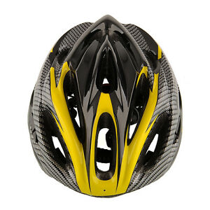 Cycling Mountain Racing Yellow Helmet Unisex Safety Carbon Comfortable