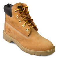 Timberland Waterproof Leather Wheat Classic 6 Inch Work Boots Youth Us Size 6 M