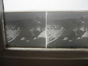 LOT-Photo-plaque-verre-NEGATIVES-stereo-3D-relief-MONTAGNE-PAYSAGES-A-IDENTIFIER