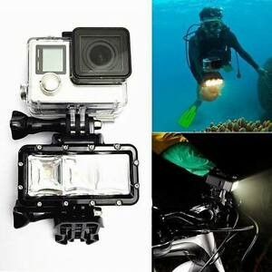 Black-Underwater-Waterproof-Diving-Spot-Light-LED-Mount-for-Camera-GoPro-Yi