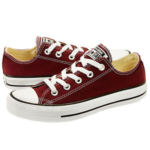 b210bd0d9ab1 Converse All Star Chuck Taylor OX 139794F Burgundy Women Shoes  NO ...