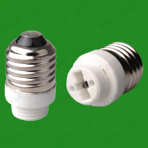 6x Vis Edison Es E27 Pour G9 Ampoule Adaptateur Lampe Prise Convertisseur Porte