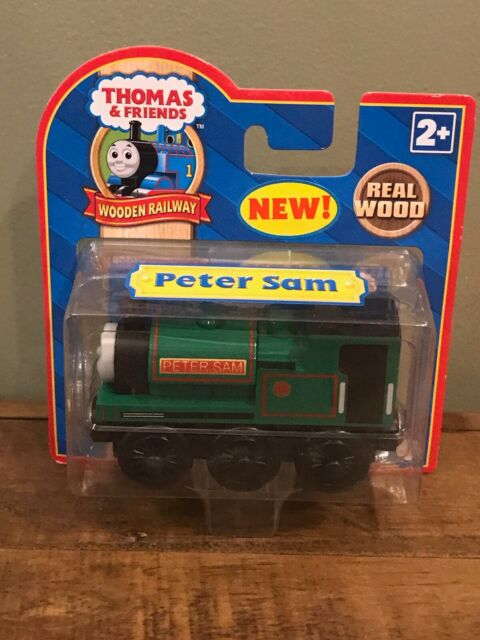 Super RARE Thomas & Friends Wooden Railway - Peter Sam by Learning ...