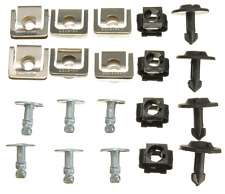 AUDI A4 A6 Undertray Guard Engine Cover Fixing Fitting Clips & Screw KIT FreeP&P