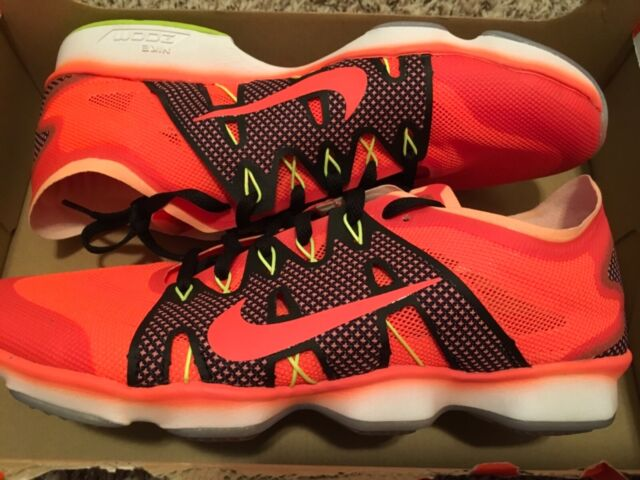 New Nike Air Zoom Fit Agility 2 Womens Training Shoes Orange 806472 800 sz 9