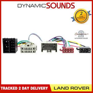 CT10LR04-Parrot-Bluetooth-Sot-Harnais-en-T-Iso-Cablage-Cable-pour-Land-Rover