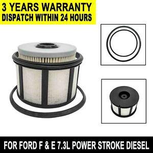 FD4596 Fuel Filter Element Service Kit For Ford F & E 7.3L Power Stroke  Diesel | eBayeBay