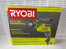 Ryobi Variable D620h Corded Hammer Drill Driver 58 62 Amp 2700 Rpm 43000 Bpm