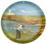 Coalport Golfing Classics Turnberry plate Melvyn Buckley LE of 10000 CP2279