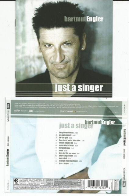 """Hartmut Engler (Sänger von PUR)  """"Just a Singer"""" CD 2005 EMI - Neuwertig"""