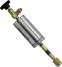 New Listingmastercool 82375 R134a Oil Injector Silver