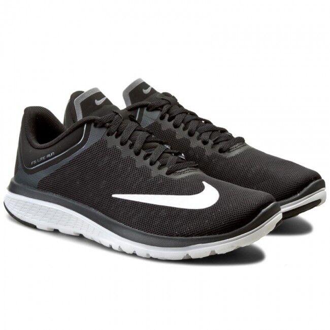Nike Wmns SELLADOS DE FÁBRICA LITE RUN 4 Negro blancoo blancoo blancoo Para Mujer De Correr Zapatillas Zapatos UK 4  genuina alta calidad