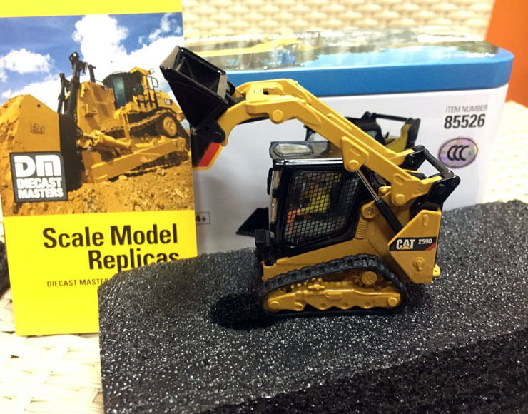 Cargador de pista 1 50 Caterpillar Cat 259D 242D + + + cargador deslizante Street, DM, 2 unidades c6349b