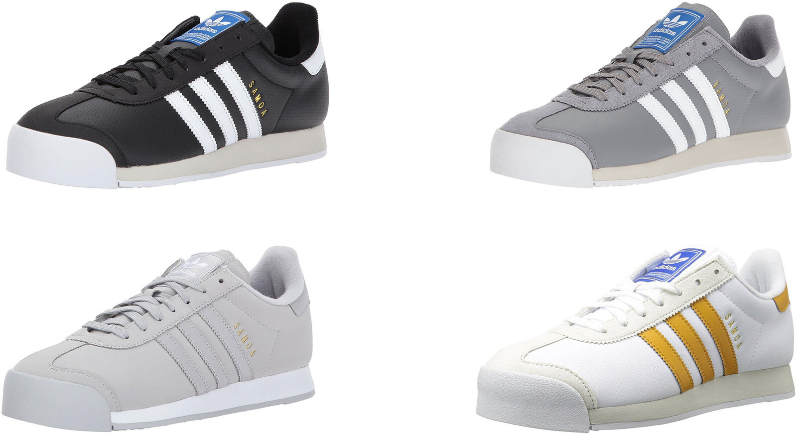 adidas Originals Men's Samoa Shoes, 4 Colors