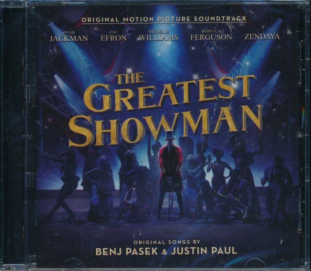 Greatest Showman The Soundtrack CD NEW Hugh Jackman Zac Efron