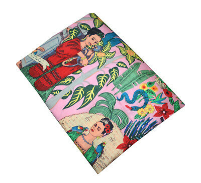 Mexican Queen Farida Fabric 50 Yard Craft In Multi Colours Cotton DIY Material