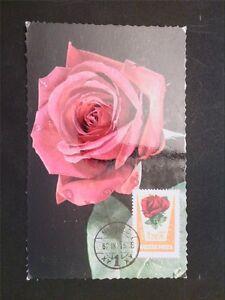 UNGARN-MK-1962-FLORA-ROSE-ROSES-MAXIMUMKARTE-CARTE-MAXIMUM-CARD-MC-CM-c6692