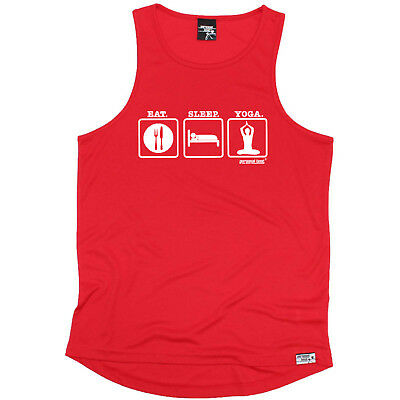 Running Vest Funny Mens Sports Performance Singlet Evolution Running