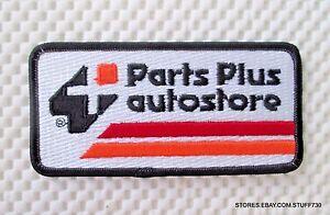 AUTO-STORE-PARTS-PLUS-PATCH-CAR-UNIFORM-HAT-SHIRT-ADVERTISING-4-1-4-034-x-2-034