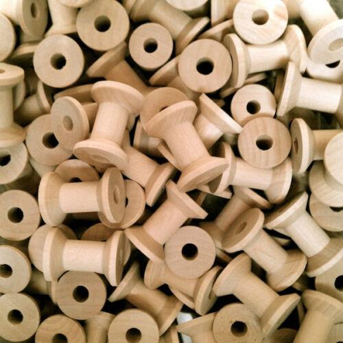 5 bobine di legno taglio profondo BOBINA DA CUCIRE Craft Nastro 30mm x 21mm multi-acquisto SCONTO