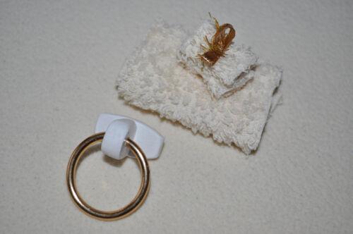 Handtuchhalter mit Handtüchern Set  Puppenstube,Puppenhaus  1:12, 1:10