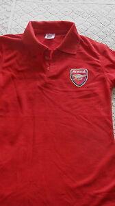 Arsenal-Polo-Shirt-Child-039-s-size-M