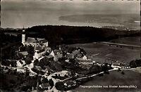 Kloster Andechs Bayern Postkarte 1960 Blick auf Kloster und Umgebung Luftbild