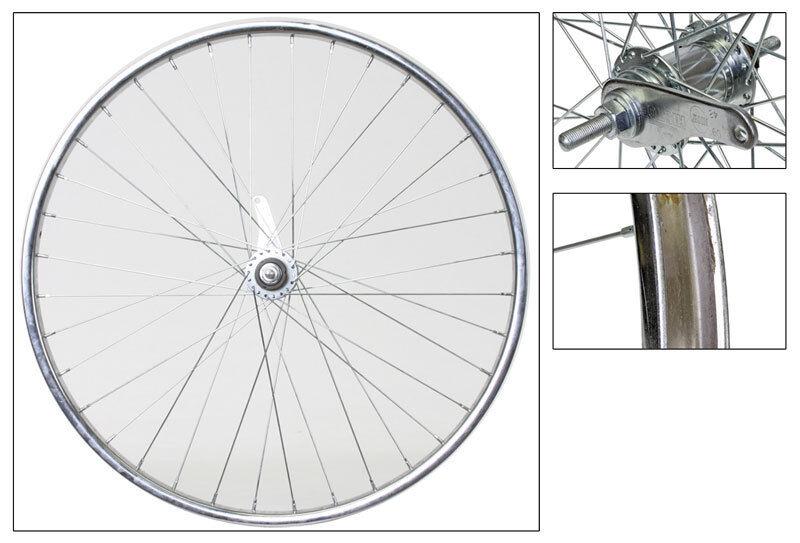WM Wheel  Rear 26x1.75 559x25 Stl Cp 36 Kt Cb 110mm 14gucp W trim Kit