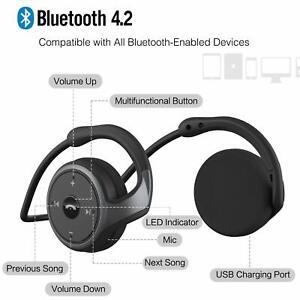 7354902b2fc Image is loading LinkWitz-Marathon2-Sports-Bluetooth-Headphones-Wireless- Earphones-2018-